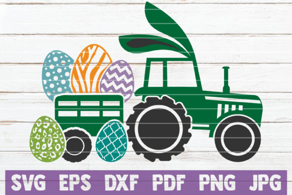 Easter Truck Gráfico Crafts Por MintyMarshmallows