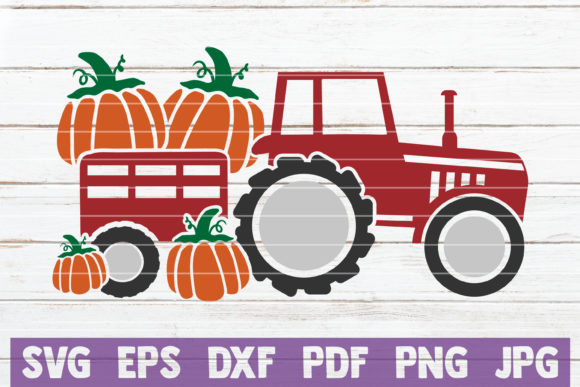 Fall Truck Graphic Crafts By MintyMarshmallows