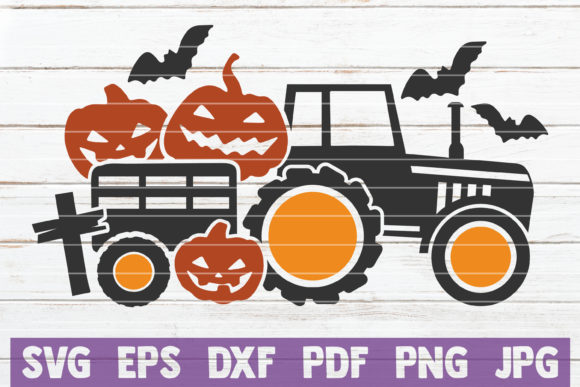 Halloween Truck Graphic Crafts By MintyMarshmallows