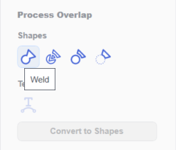 How to weld shapes in Brother Canvas Workspace