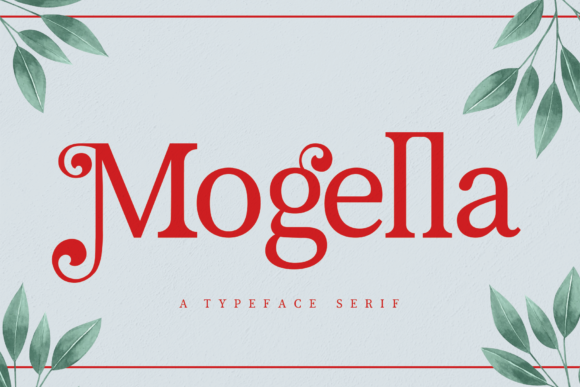 Print on Demand: Mogella Serif Font By Creativewhitee