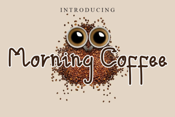 Print on Demand: Morning Coffee Script & Handwritten Font By gunawanletter
