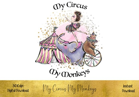 My Circus, My Monkeys Graphic Illustrations By STBB