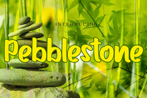 Print on Demand: Pebblestone Script & Handwritten Font By gunawanletter