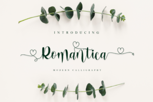 Print on Demand: Romantica Decorative Font By fiqiart09