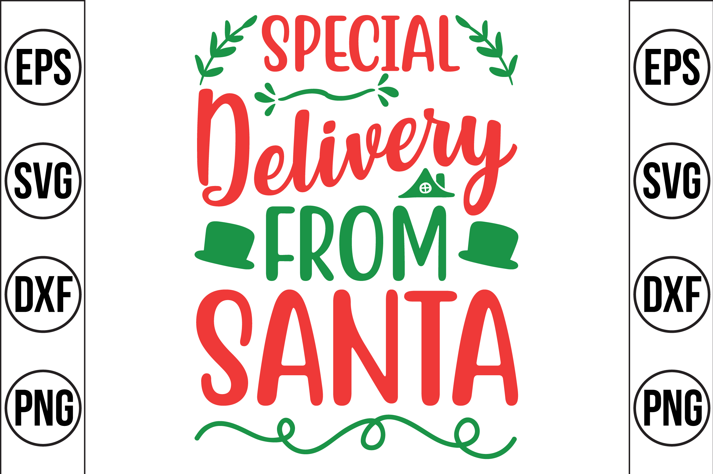Special Delivery From Santa Graphic By Craft Store Creative Fabrica
