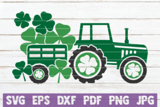 St Patrick Truck Graphic Crafts By MintyMarshmallows