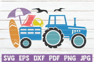 Summer Truck Graphic Crafts By MintyMarshmallows