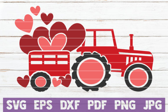 Valentines Truck Graphic Crafts By MintyMarshmallows