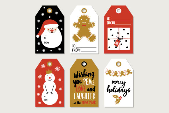 Vector  Christmas Greetings Elements Graphic Print Templates By byemalkan