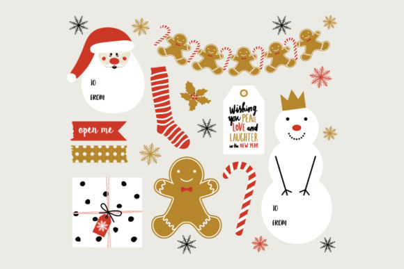 Vector Collection Christmas Hand Drawn Graphic Print Templates By byemalkan
