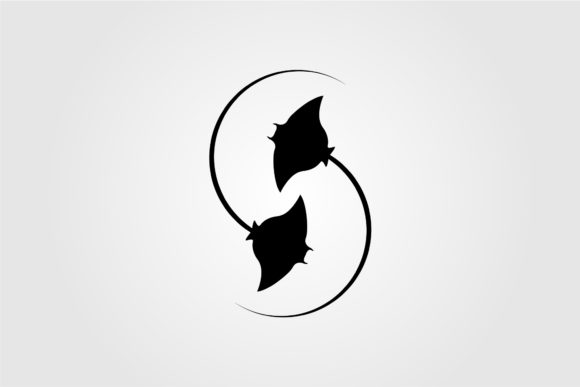 Stingray Letter S Initial Logo Design Graphic Objects By lawoel