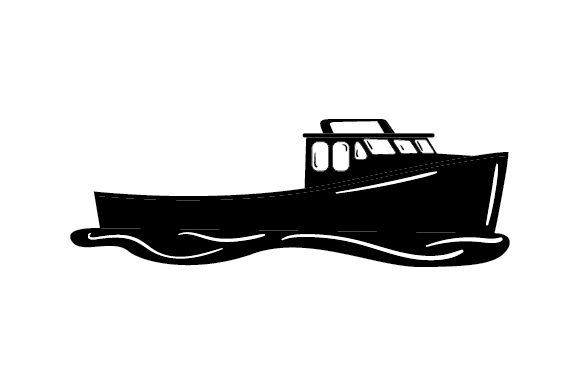 Download Lobster Fishing Boat Svg Cut File By Creative Fabrica Crafts Creative Fabrica