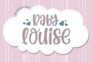 Print on Demand: Baby Louise Display Font By Dani (7NTypes)