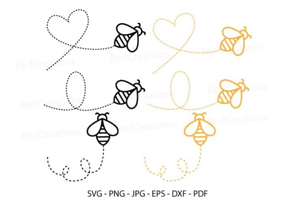 Bee Svg, Bumble Bee, Bee Keeper Clipart Graphic Crafts By RedCreations