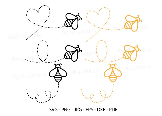 Bee Svg, Bumble Bee, Bee Keeper Clipart SVG File