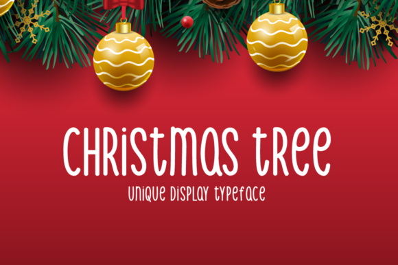 Print on Demand: Christmas Tree Script & Handwritten Font By Seemly Fonts