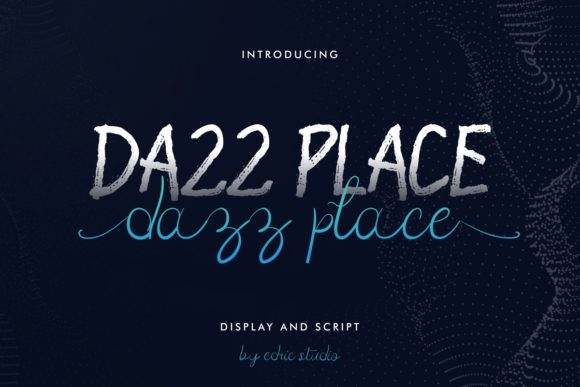 Print on Demand: Dazz Place Script & Handwritten Font By EdricStudio