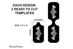Print on Demand: Fall Halloween Hand Sanitizer Holder PNG Graphic Objects By Mockup Station 3