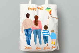 Print on Demand: Fall Plus Size Family Fall Landscape Graphic Illustrations By LeCoqDesign 7