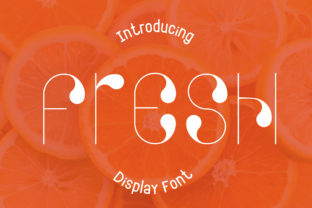 Print on Demand: Fresh Decorative Font By Pila Studio