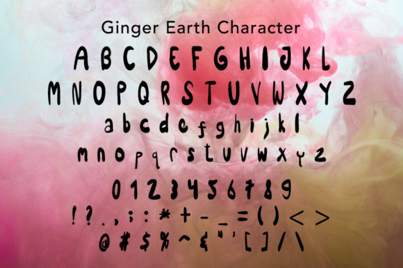 Print on Demand: Ginger Earth Display Font By morningmondayy - Image 5