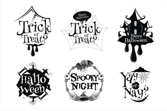 Print on Demand: Halloween Best Clipart POD Graphic Illustrations By edywiyonopp