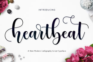 Print on Demand: Heartbeat Script & Handwritten Font By Jamalodin