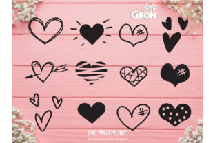Hearts SVG Graphic Crafts By babyGnom