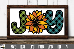 Print on Demand: Joy - Sunflower Graphic Crafts By oldmarketdesigns