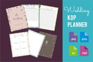 Print on Demand: KDP Interior Wedding Planner Graphic KDP Interiors By edywiyonopp