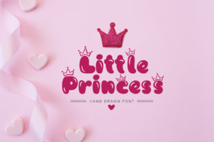 Print on Demand: Little Princess Display Font By Happy Letters