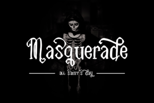 Print on Demand: Masquerade Script & Handwritten Font By besttypeco