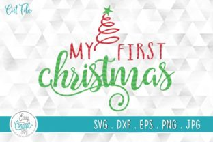 Print on Demand: My First Christmas SVG, My 1st Christmas Graphic Crafts By EasyConceptSvg