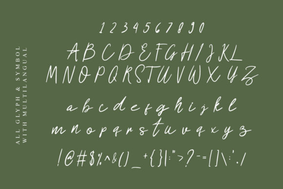 Signation Font Preview