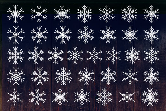 Snowflake, Christmas Snowflakes Graphic Crafts By julimur2020