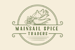 Spice Hand Drawn Logo Vintage Style Graphic Logos By byemalkan
