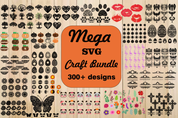 Print on Demand: The Mega SVG Craft Bundle  von yulnniya