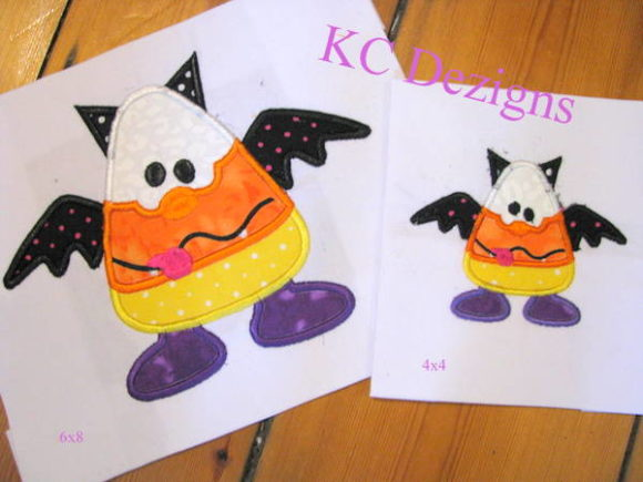 Wacky Halloween Corn 02 Halloween Embroidery Design By karen50