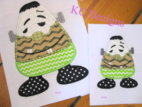 Wacky Halloween Corn 03 Halloween Embroidery Design By karen50