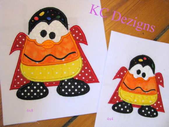 Wacky Halloween Corn 05 Halloween Embroidery Design By karen50