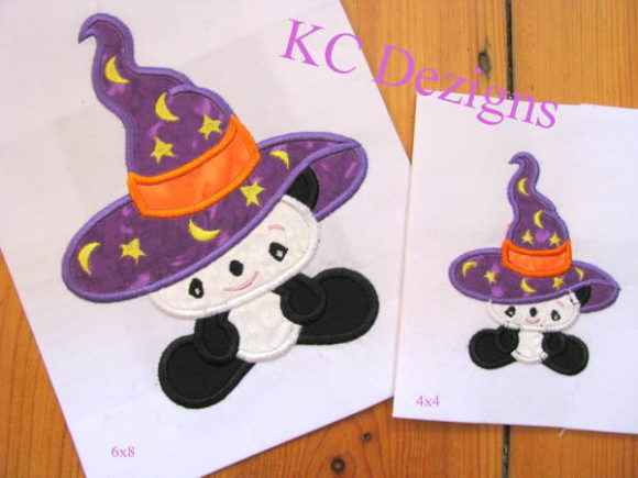Widdle Wonder Halloween 1 Halloween Stickdesign von karen50