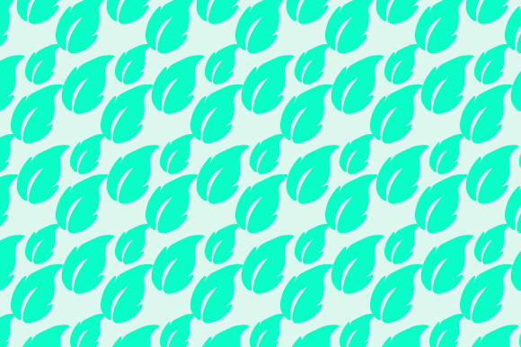 Tea Leaf Pattern Design Graphic Patterns By Rizky Creative