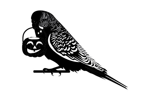 Halloween Budgie Cut File Download