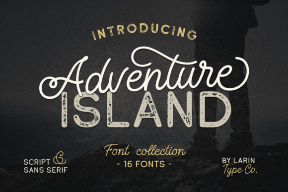 Print on Demand: Adventure Island Display Font By Pasha Larin