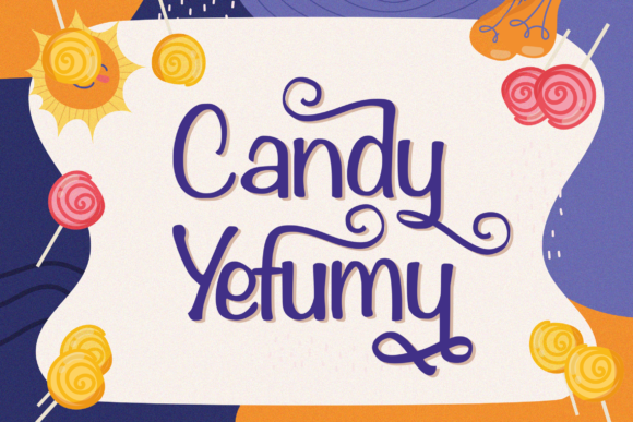 Print on Demand: Candy Yefumy Display Font By StringLabs