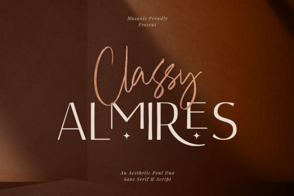 Print on Demand: Classy Almires Sans Serif Font By Mas Anis