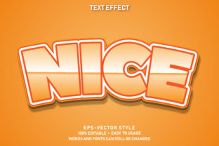 Print on Demand: Eps Editable Text Effect Nice Premium Graphic Graphic Templates By yosiduck
