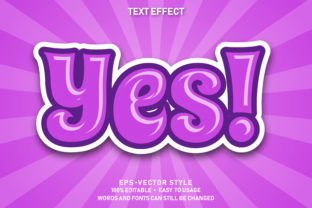 Print on Demand: Eps Editable Text Effect Yes Premium Graphic Graphic Templates By yosiduck