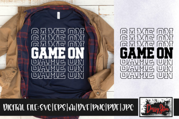 Game on Graphic Crafts By DrissyStore